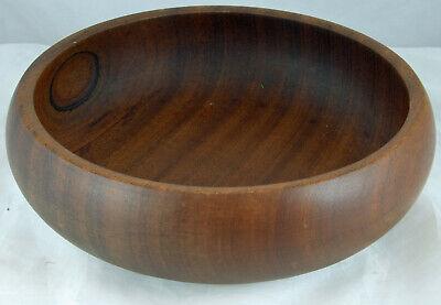 Round Wooden Bowl