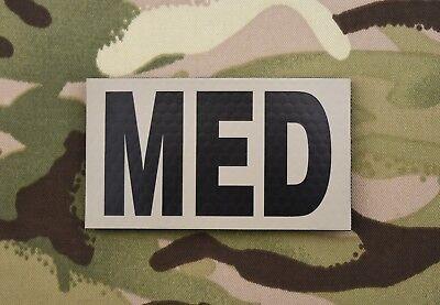 Infrared Combat MED Patch USMC Hospital Corpsman USAF US Army Line Medic Doc