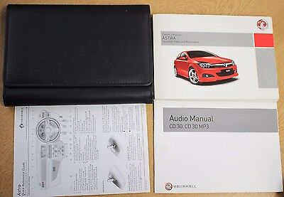VAUXHALL ASTRA OWNERS MANUAL HANDBOOK WALLET 2004-2010 PACK 16048