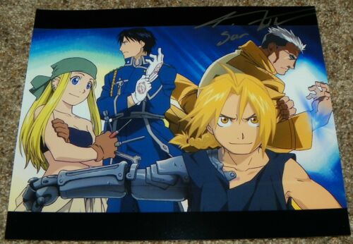 J Michael Tatum Scar Fullmetal Alchemist Brotherhood Signed 8x10 Photo Auto #2