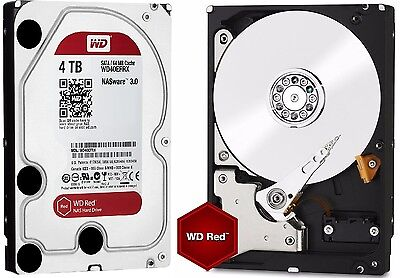 Western Digital 4TB RED NAS RAID WD Hard Drive SATA 6 Gb/s 64MB WD40EFRX 4 TB for sale  Shipping to Canada