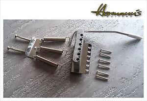 Vintage-Stratocaster-Guitar-Bridge-Steel-Saddles-Guitar-Tremolo-Zinkblock