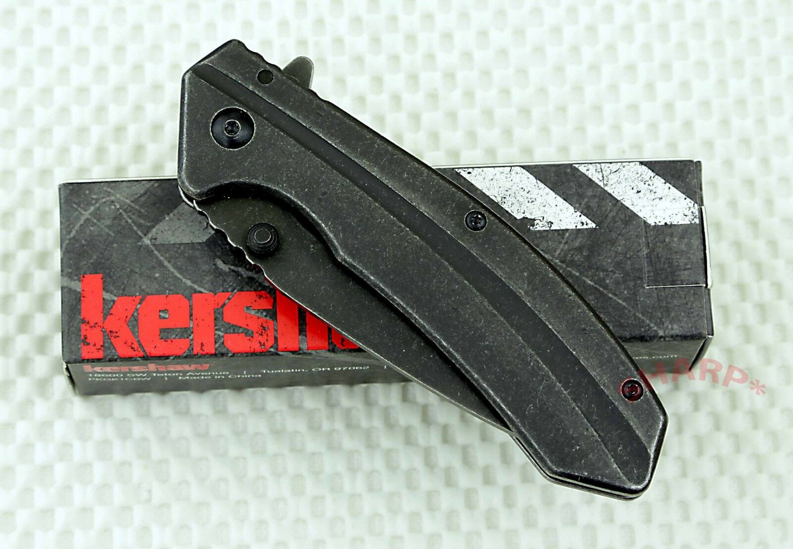Купить Kershaw Filter - * 1306BW Kershaw Filter pocket knife plain edge Assisted Opener knives NIB New