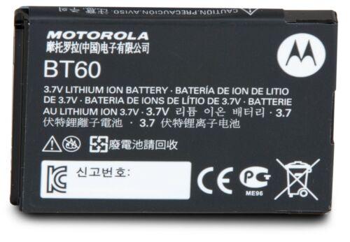 Motorola HKNN4014 BT60 CLP1010 CLP1040 CLP1060 Two Way Radio LI-ION Battery