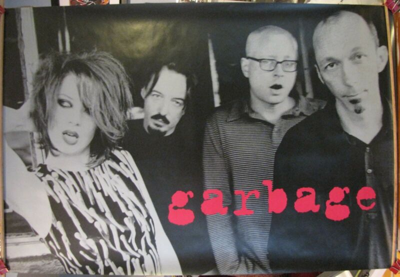 "Garbage, Debut, 24""x36"" Promo Only Poster, Excellent Condition, Shirley Manson"