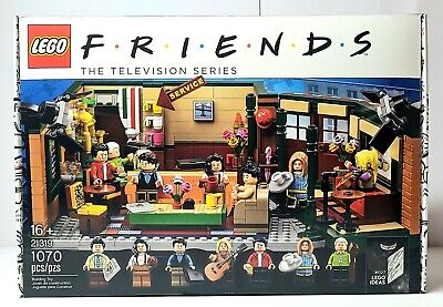 FRIENDS TV SHOW Central Perk LEGO Building Set Ideas Brand New Factory Sealed