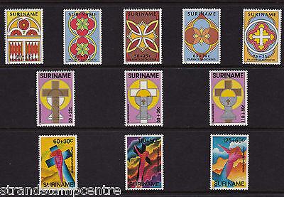 Surinam - Easter - U/M - 1982 + 1988 + 1993 'Bundle'