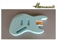 Finish High Gloss Daphne Blue Jazz Bass Erle Body Jazz Bass Alder Body