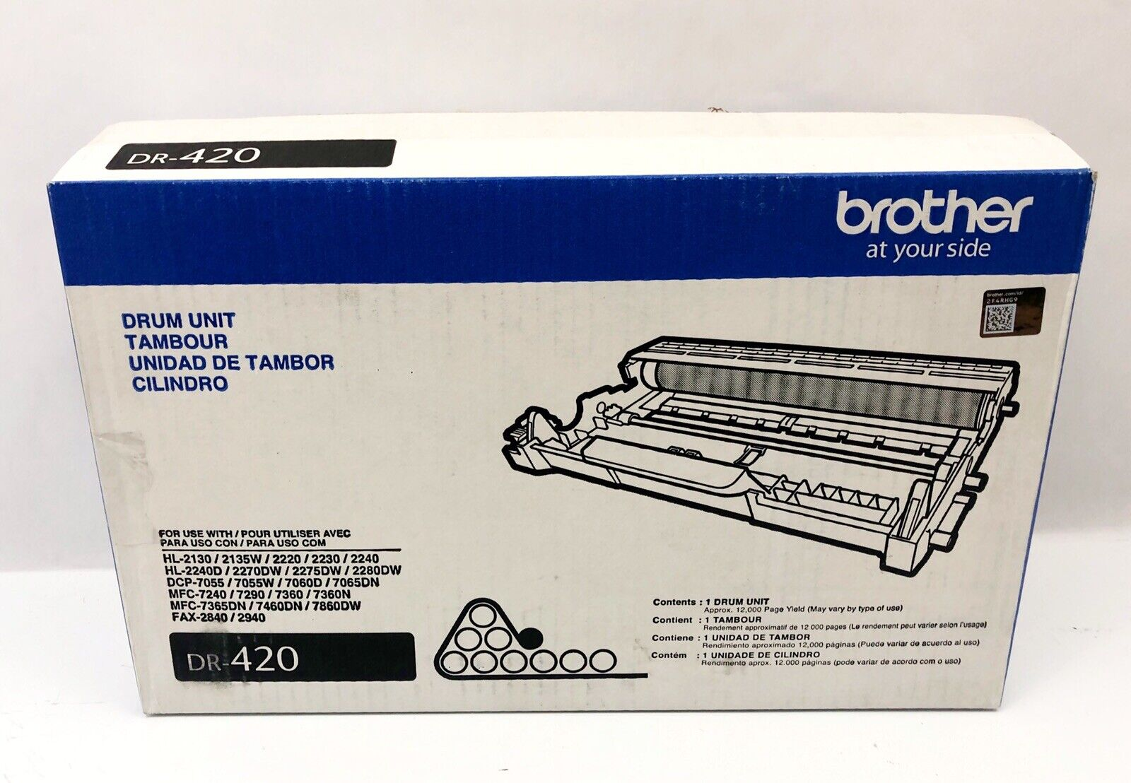 NEW Genuine Brother DR-420 DR420 Drum Unit GENUINE