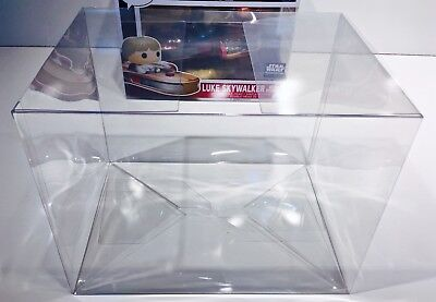 1 Box Protector For FUNKO LUKE SKYWALKER WITH SPEEDER  Display Case Star Wars