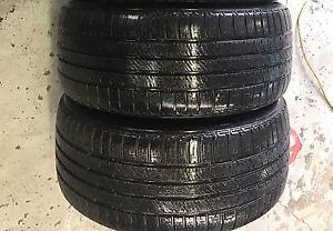 225/45/17. 2 Bridgestone All Season Tires 80%