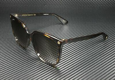 Women's Gucci 57Mm Oversize Sunglasses - Havana/ Brown