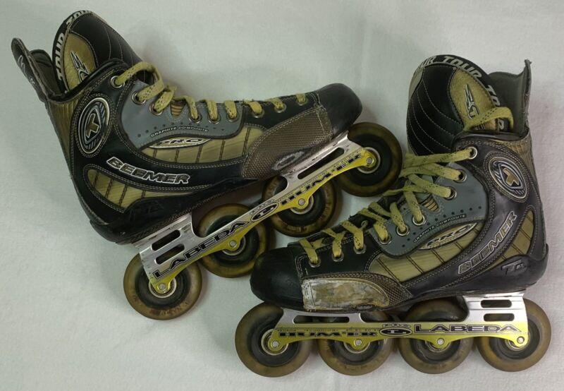 Tour Beemer Men's US Shoe Size 9.5 Inline Hockey Roller Blades Skates