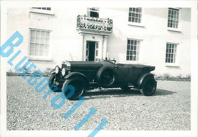 1920s Bentley 4 1/2 Ltr 1960s Dealer Stock Photo 5 x 3.5 inches