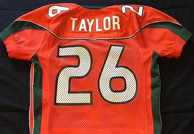 Sean Taylor Miami Hurricanes Game Worn Jersey NFL Washington Redskins COA LOA