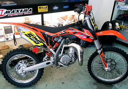 2014 KTM SX85 Big Wheel