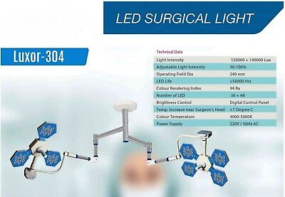 Led Surgical Light Ceiling Mobile Wall Mounted No Of Led 36 48