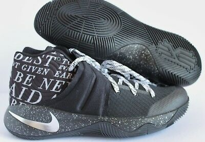 41be2c7fb87 Nike Men Kyrie 2 ID Black-White-Silver SZ 11.5  843253-998