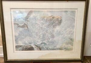 Robert Bateman Grizzly signed print