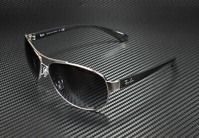 RAY BAN RB3386 003 8G Silver Grey Gradient 67 mm Men's (67mm Sunglasses)