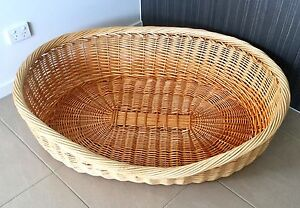 Wicker Dog Basket Mango Hill Pine Rivers Area Preview