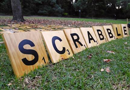 Giant Speed Scrabble for Hire – Wedding Picnic Party Event Games!