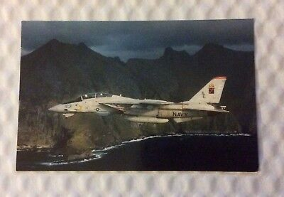 VF-11 RED RIPPERS NAVY JET postcard EARLY 1960s- #L904