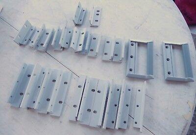 Hewlett Packard Test Equipment1-pair Front Handles Mounting Brackets Lot