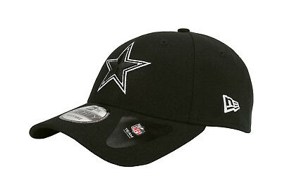Black League Adjustable Hat - NEW ERA 940 NFL Dallas Cowboys The League Black Adjustable Snapback Cap Men Hat