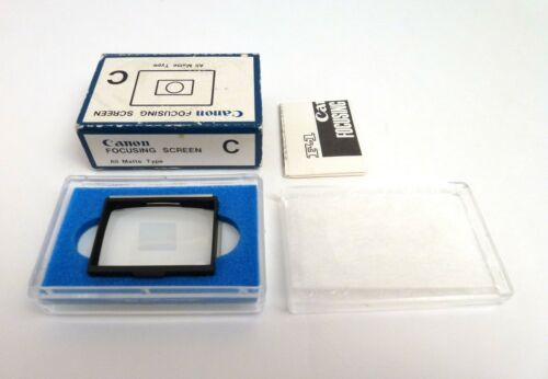 Canon Focusing Screen for F-1 - Type C