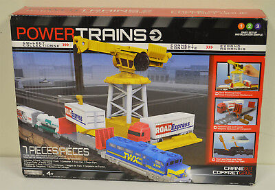 POWER TRAINS Crane Set Jakks Pacific New Sealed, used for sale  Canada