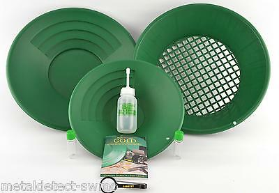 Garrett Prospecting Mining Panning Gravity Trap Gold Pan Kit with FREE SHIPPING!