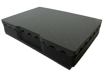 Replacement foam for the Pelican 1495. 3 piece foam set. (middle (3 Piece Replacement Foam)