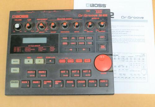 BOSS DR-202 Dr. Groove Drum Machine dr202 w/ Manaual ~ trip hop, 90s groovebox!!