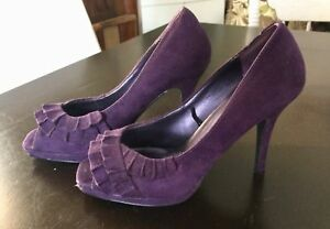 Purple suede heels size 8, pick up in Kingsville