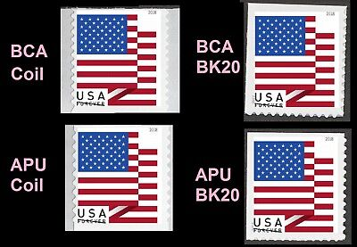 US Flag forever single (4 stamps) MNH 2018
