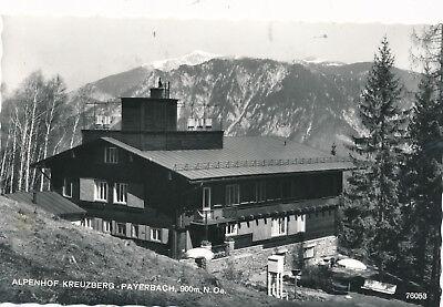 AK Alpenhof Kreuzberg aus Payerbach, Niederösterreich  (G15)