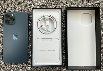 Apple iPhone 12 Pro Max - 128GB - Pacific Blue