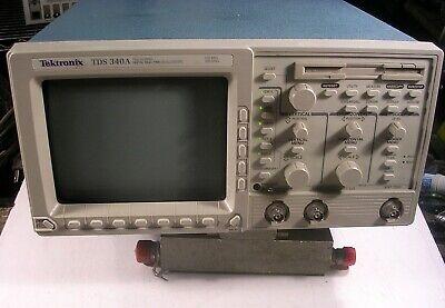 Tektronix Tds340a 100 Mhz 2 Channel Digital Oscilloscope 500 Ms