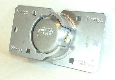 American Lock A2010nka Hasp 770 Keyed Alike Hidden Shackle Maximum Security