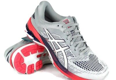 Asics Women's GEL Kayano 26 Running Size 6.5 Piedmont Grey/Silver 1012A457 020