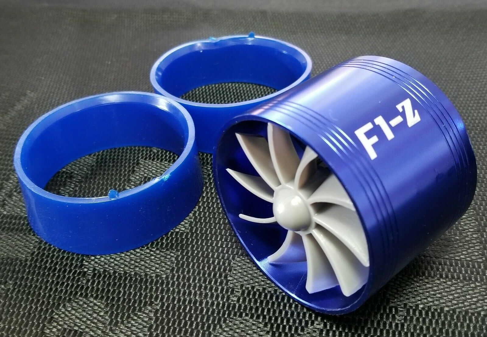AIR INTAKE FAN BL Turbo Supercharger Turbonator Charger Gas Fuel Saver for HONDA