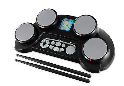 Elektronisches Schlagzeug Digital E-Drum Set Percussion Kit 4 Drumpads Sticks
