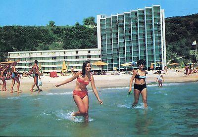 Alte Postkarte - Albena - Das Hotel Kaliakra