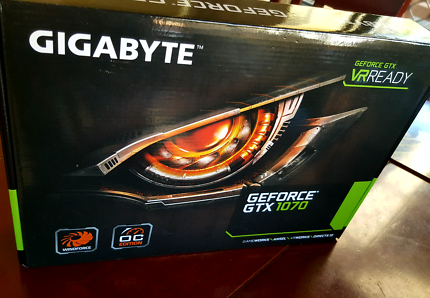 Gigabyte Geforce GTX1070 OC Edition