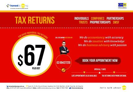 TAX PREPARATION SERVICE Abbotsford Yarra Area Preview