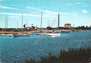 Cartolina-Jesolo-Lido-Faro-Imbarcazioni-anni-039-60