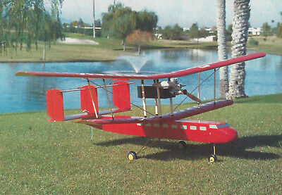Giant G-DUNK Sport Biplane Plans,Templates and Instructions 58ws for sale  Shipping to India
