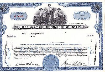 Phillips-Van Heusen Corp. 1962 blau