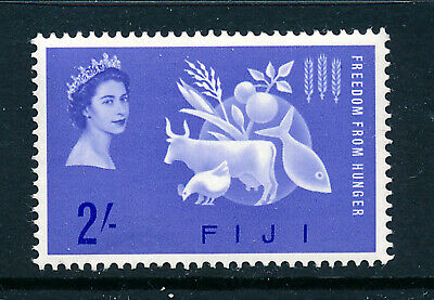 FIJI 1963 FREEDOM FROM HUNGER CROWN AGENTS OMNIBUS  MNH